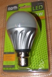 7W LED bayonet north light
