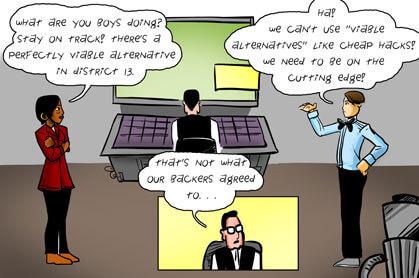 panel 2: cutting edge vs investors
