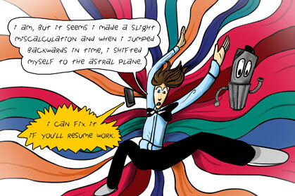 panel 6: stuck in the astral plane