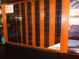 Romag double glazing with embedded PV