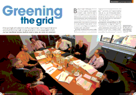 CIBSE DDM Round Table writeup opening spread CIBSE Journal Dec 2009