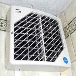 Vent Axia HR25H MHRV in bathroom