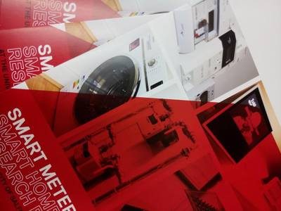 Smart Meters Research Facility leaflets