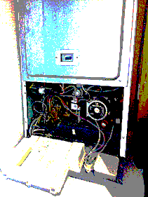 boiler open for servicing again