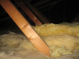 loft insulation adding another 20cm 200mm of fibre on top 7 DHD