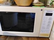 microwave oven Panasonic in kitchen 2 DHD