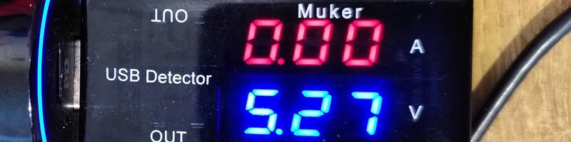 Muker USB A UT KWS 10VA power meter