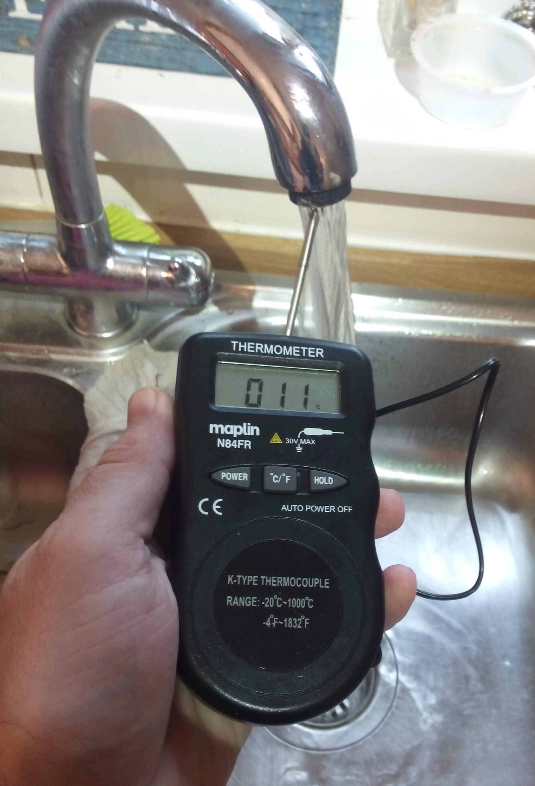 On 16ww Mains Inlet Water Temperature Earth Notes