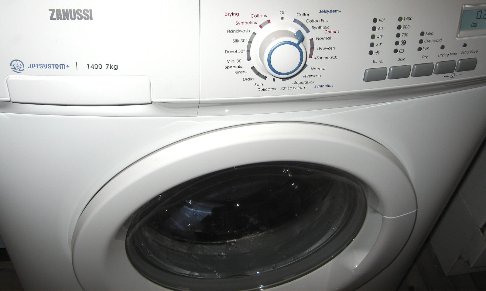 Earth Notes On The Zsi Zwd14581w Front Loading 7kg Washer Dryer Review